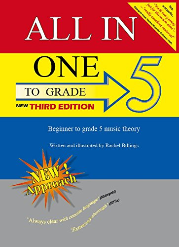 All-In-One to Grade 5 Music Theory 2016: Beginner to Grade 5 Music Theory (for Grades 1, 2, 3, 4, 5) (All-in-One Series)