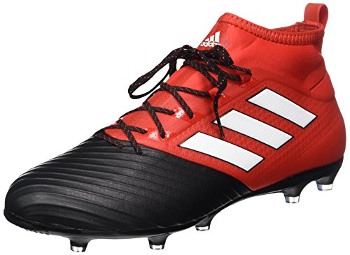 adidas Ace 17.2 Primemesh FG, Botas de fútbol Hombre, Rojo (Redfootwear Whitecore Black), 42 2/3 EU