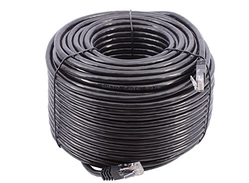 Smedz CAT6 - Cable de red Ethernet GigaBit (50 m), color negro