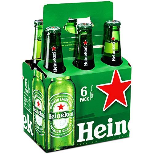 Heineken Biere Blonde Pack de 6 x 33 cl