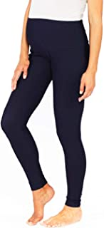Angel Maternity Women's Maternity Deluxe High Waist Jeggings, Navy, 2XL