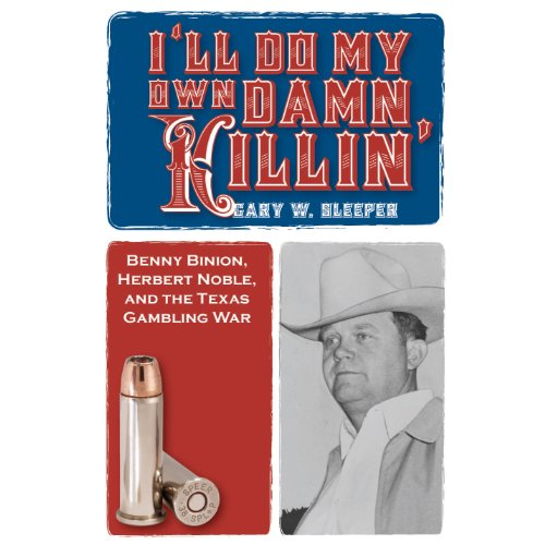 I'll Do My Own Damn Killin' audiobook cover art