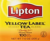 Lipton Yellow Label Tea Orange Pekoe 100 Tea Bags