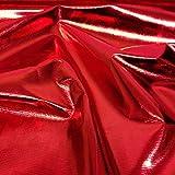 Stoff, südkoreanischer Metallic-Trikotstoff, für