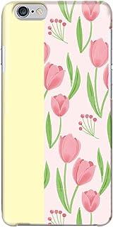 [bodenbaum] isai vivid LGV32 ハードケース LG エルジー イサイ ビビッド au スマホケース チューリップ 花柄 hard-f249 (C.イエロー)