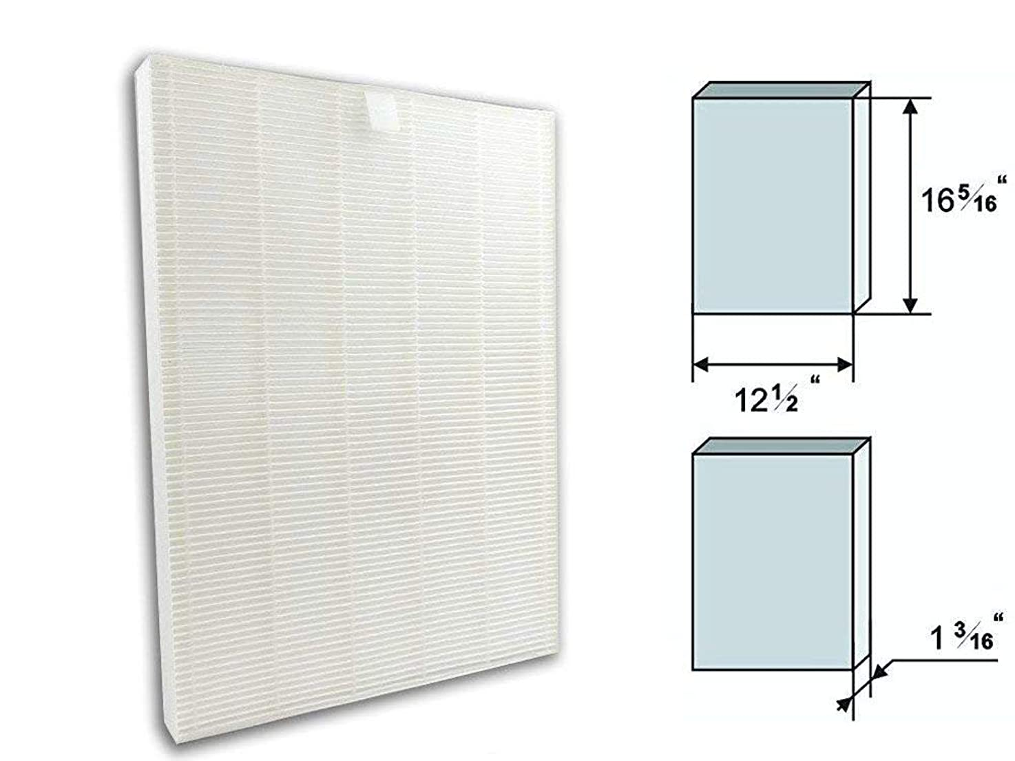 GOODVAC Replacement HEPA Filter for Fellowes AeraMax 290/300 / DX95 Air Purifiers