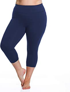 Rainbeau Curves Women's Plus Size Curve Basix Capri