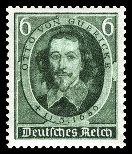 Briefmarken Deutsches Reich 1936, Nr. 608, Guericke, Postfrisch (Mi. 1,60 EUR)