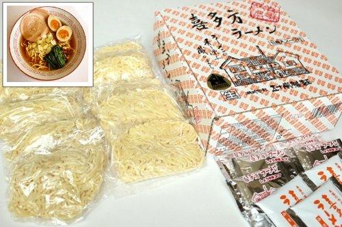 (五十嵐製麺) 喜多方 生ラーメン 10食セット