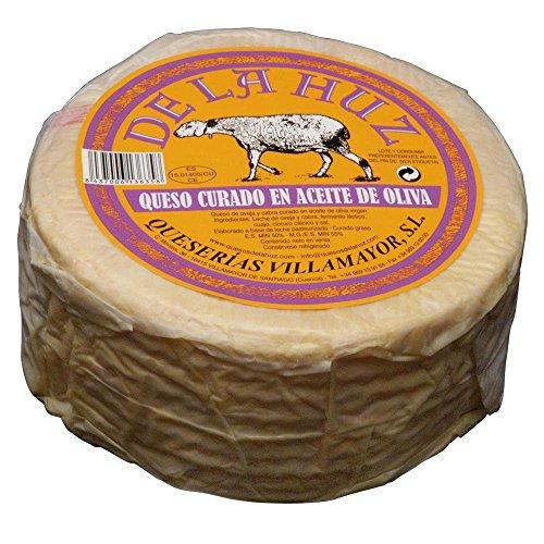 De La Huz Queso Gourmet en Aceite, Grande – leche oveja
