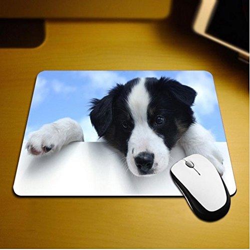 Familienkalender Hund schaut über den Schreibtisch Mauspad Anti-Rutsch, Wasserfest 220x180 Veredeln Sie Ihren Schreibtisch mit diesem eleganten Mauspad