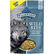 Blue Buffalo Wilderness Trail Treats Wild Bits High Protein Grain Free Soft-Moist Training Dog Treats Chicken Recipe 10-oz bag