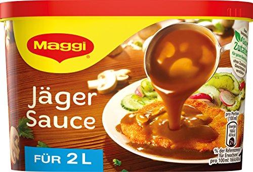 Maggi Jäger Sauce, Dose, ergibt 2 Liter, 6er Pack (6 x 2l)