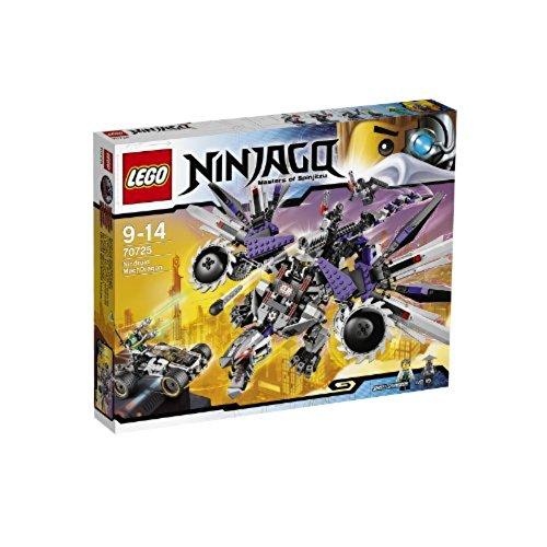 LEGO Ninjago - El dragón mecánico nindroide, Juego de construcción (70725)