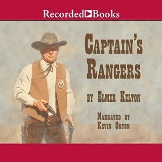 Captain's Rangers audiobook cover art