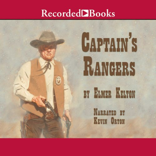Captain's Rangers audiobook cover art