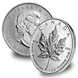 1988 CA - Present Canadian Platinum Maple Leaf by CoinFolio $50 Brilliant Uncirculated