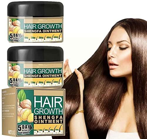 Ginger Hair Growth Cream, Regenerating Cream for Hair Growth, Hair Growth Serum, Nourishing Magic Treatment (2PCS)