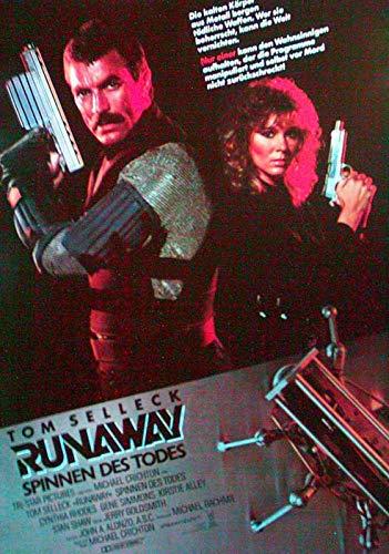 Runaway - Spinnen des Todes - Tom Selleck - Filmposter A3 29x42cm gerollt