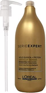 LOréal Professionnel Serie Expert Absolut Repair Lipidium Shampoo 1500ml and Pump