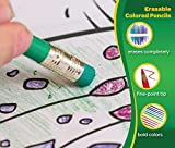 Crayola Erasable Colored Pencils, 50 Count, Art Supplies, Kids Gifts
