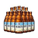 Vedett Extra White Ale - Premium Belgian Wheat Beer (12 Bottles)