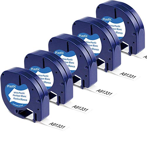 Aonomi Compatible Label Replacement for DYMO Letratag Refills 91331...