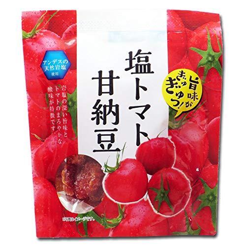 おつまみ 珍味 アンデスの天然岩塩使用 塩トマト甘納豆