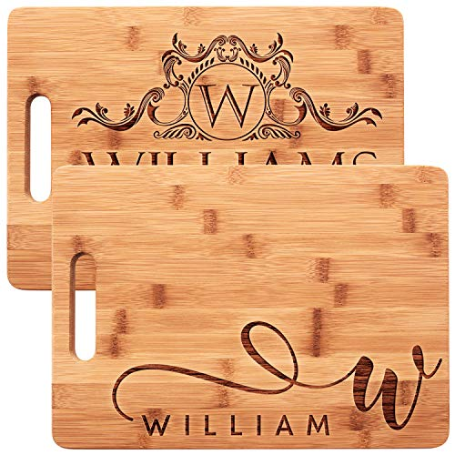 Personalized Cutting Board for Couples