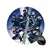 進撃の巨人 Shu マウスパッド コンピューターマウスパット デスクマット 防水 おしゃれ 耐久性良い 滑り止め オフィス用 個性的 柔軟 かわいい PC ノートパソコン 光学式マウス対応 薄型 20.5*25.5cm