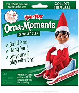 The Elf on the Shelf Orna-Moments: Snow Day Sled