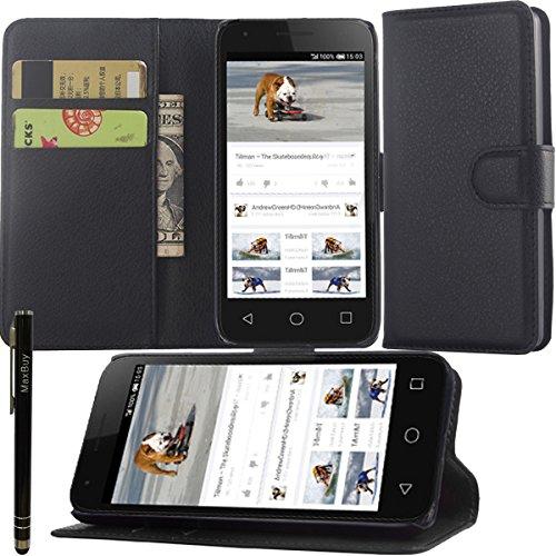 Maxbuy Alcatel One Touch Pixi 311,4cm Cacs, personalizzato in pelle Folio stand custodia in pelle per Alcatel One Touch Pixi 311,4cm