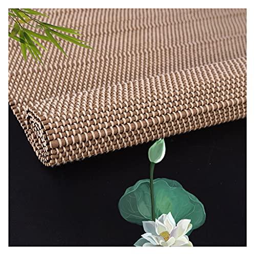 Rullgardin Naturliga Rullskärmar av Bambu Mörkläggningsfönster Rullskärmar för Altandörrar Anpassade Rullgardiner för Fönster för Inomhus och Utomhus Andas och UV-beständig