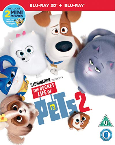 Universal Pictures - The Secret Life of Pets 2 3D Blu-Ray (1 BLU-RAY)