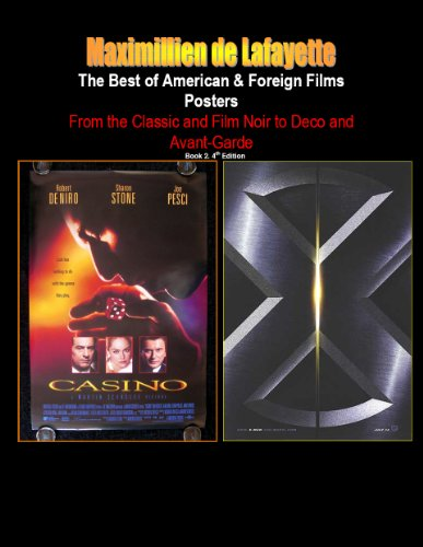 The Best of American & Foreign Films Posters. Book 2. From the Classic and Film Noir to Deco and Avant-Garde. 4th Edition. (World best films posters) (English Edition)