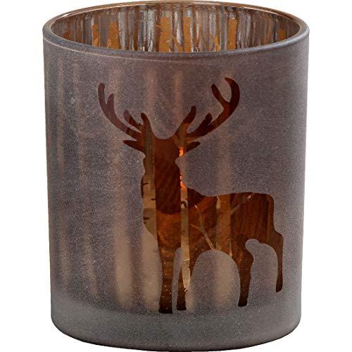 Boltze Windlicht Pieter H10cm D9cm Material: Glas lackier