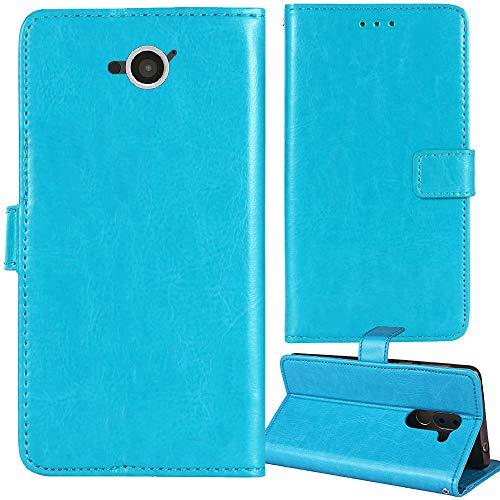 Lankashi Premium Retro Business Flip Book Stand Brieftasche Leder Tasche Schütz Hülle Handy Handy Hülle Für Caterpillar CAT S40 4.7