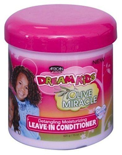 Ap Dream Kids Olive Miracle Leave-In Conditioner 15oz by AFRICAN PRIDE