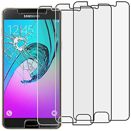 ebestStar - kompatibel mit Samsung Galaxy A3 2016 Panzerglas x3 SM-A310F Schutzfolie Glas, Schutzglas Displayschutz, Displayschutzfolie 9H gehärtes Glas [Phone: 134.5 x 65.2 x 7.3mm, 4.7'']