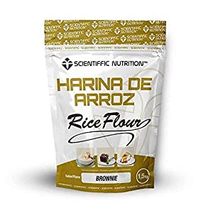 Harina De Arroz Gourmet 1.5 Kgs - Scientiffic Nutrition, BROWNIE