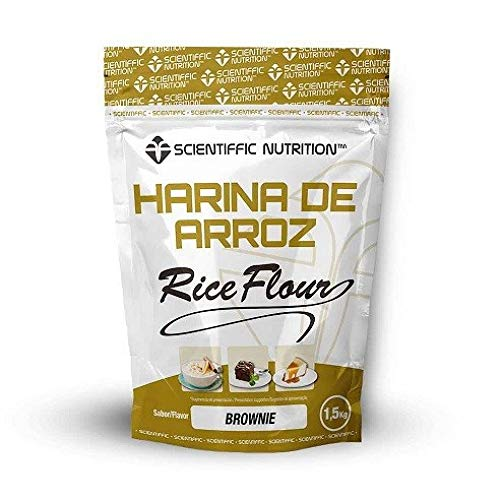 Harina De Arroz Gourmet 1.5 Kgs - Scientiffic Nutrition, BROWNIE