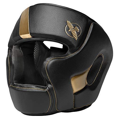 Hayabusa T3 Adjustable MMA Headgear - Black/Gold,...