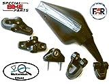 Motorrad Blinkerspiegel für Verkleidung (ein Paar) LED Universal inkl 5xFüße für alle Arten von...