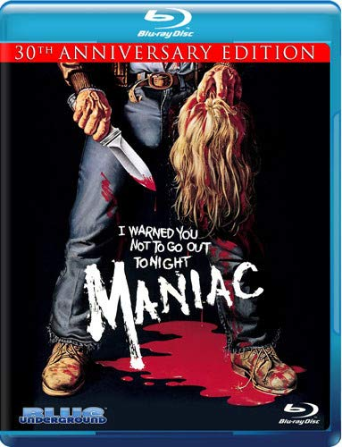 MANIAC: 30TH ANNIVERSARY EDITION - MANIAC: 30TH ANNIVERSARY EDITION (2 Blu-ray)