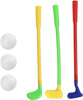 Yeahibaby Plastic Golf Toys - Mini Golf Game Sports Clubs de Golf para niños