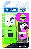 Blister Eraser&brush Compact Fluo + goma de recambio