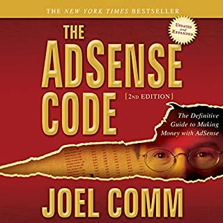 The AdSense Code 2nd Edition audiobook cover art