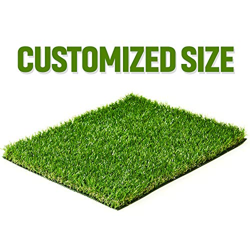 ZGR Artificial Garden Grass 4' x 6' (24 Square ft) Fake Grass, Dog Potty Grass, Soft Pet Turf Grass Mat, Non Toxic, Thick Lawn Puppy Potty Training, Dog Mat Pad, Perfect for Indoor/Outdoor Landscape