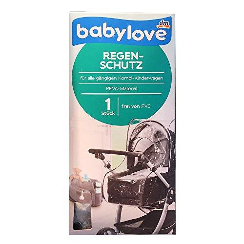 babylove Regenschutz für alle gängigen Kombi-Kinderwagen, frei von PVC (1 St)