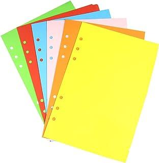 YEAHIBABY A5 Intercalaires, Intercalaires à onglets colorés Intercalaires A5,6 feuilles